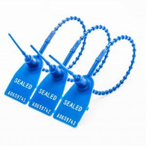 Plastsigill blå