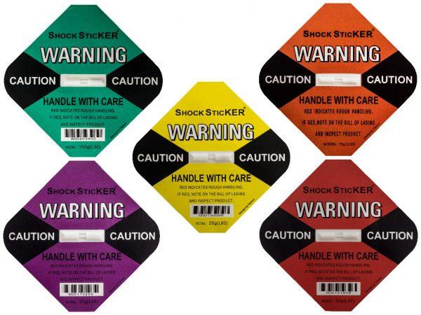 Shockstickers produktbild alla färger