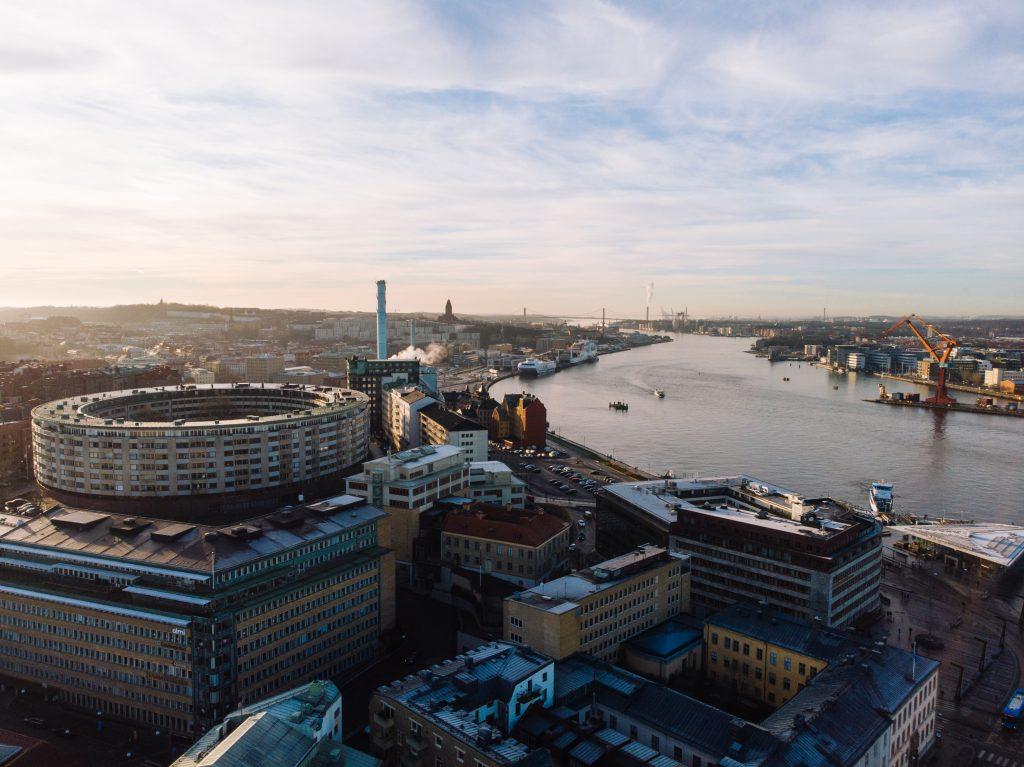 Utblick över Göteborg